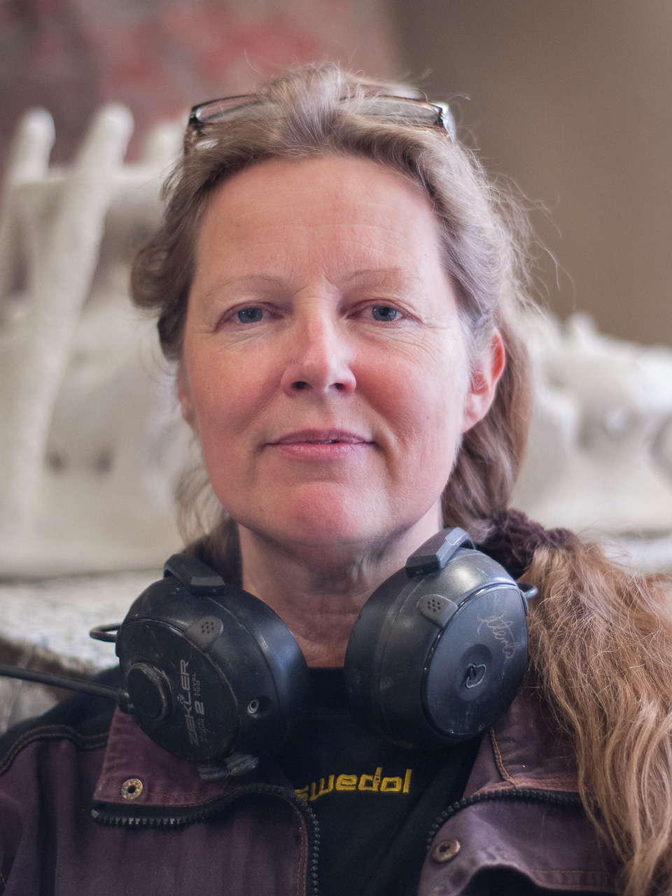 Kerstin Merlin Eriksdotter - Verkstadsansvarig